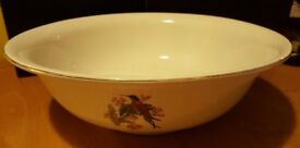 "Vintage style Large washbowl 16"" diameter (40cm approx) £18"