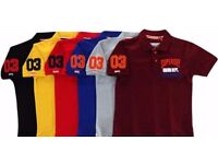SUPERDRY Men's Polo T - Shirt for wholesale Only