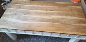 Lovely rustic coffee table for sale