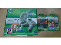 Leapfrog Leap TV and two games