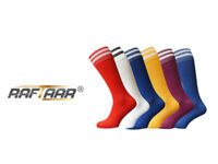 100 x Premium 2 Stripe Unisex Football Rugby Sport Socks Adult Youth Kids Sizes - Various Colours