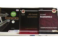 AQA A level Economics year 1 Economics, Year 2 revision books