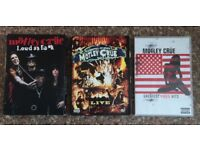 Motley Crue Carnival of sins, Loud As **** & Video Hits DVD collection