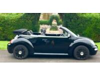 Vw Beetle Convertible 1.6s with 'BUG' reg plates