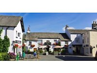 General Assistant Couple/2 Friends Required, Lake District Village Inn - Accommodation Available
