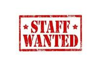 Staff required for our fast food take away.