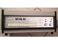 ACE TONE RHYTHM ACE Vintage Rare Analog Drum Machine Roland