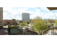 SPACIOUS SEMI FURNISHED 2 ROOM FLAT FOR RENT IN SURREY QUAYS