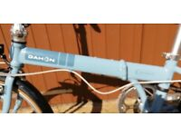 """Used, Dahon D7 4130 speed folding bike 20"""" wheels - Barely used - as new - with Rack for sale  Berkhamsted, Hertfordshire"""