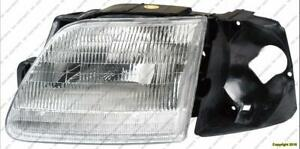 Head Lamp Passenger Side With Bracket [Production Before 07/1996] High Quality Ford F150