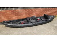 Fishing Kayak - Galaxy Cruz Fisher Tandem - nearly new!