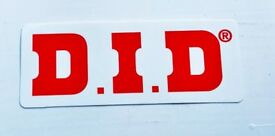 Promotional Item! D.I.D Racing Chains Sticker/Decal -Tokyo Motorcycle Show2016-