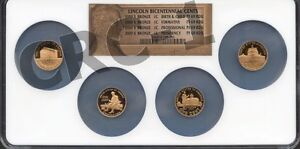 2009 S BRONZE LINCOLN PENNY BICENTENNIAL CENTS SET NGC PF69 RD UC ( NEW LABEL)