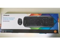 Brand new Polaroid Wireless Keyboard and Mouse Combo