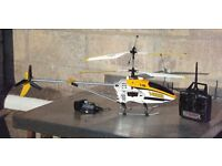 Helicopter Large 3 Channel 2.4Ghz Gyroscope RC Helicopter high pixel camera Great Christmas Present