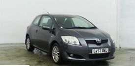 57 REG Toyota Auris 1.6 AUTOMATIC VVTI TR Petrol 3dr,Low Miles 49000/FULL SERVICE HISTORY/HPI CLEAR