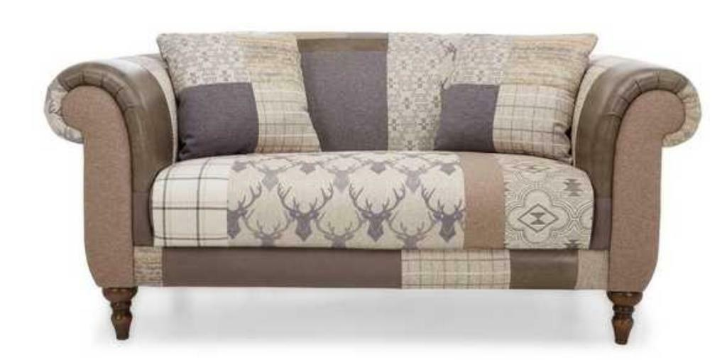 Alpine Stag Head Sofa Settee Rrp 163 1298 In Melton Mowbray