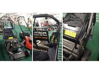 """Weibang 22"""" Cut Shaft Driven Lawnmower - Cuts Great In Wet - Contractor Level Lawnmower"""