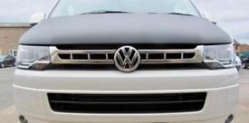 VW T5 TRANSPORTER 5.1 CHROME FRONT GRILL COVER - SELF ADHESIVE AND FITS TO EXISTING GRILL
