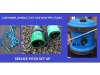 Aquaroll 40 Litre Fresh Water Service Pitch Set up Caravan Motorhome Aqua roll.