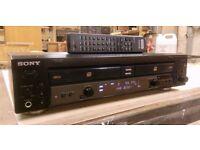 sony RCD-W 100 cd recorder