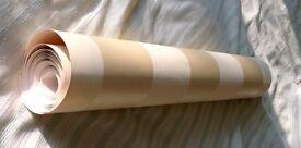 Laura Ashley Lillie Gold Stripe Wallpaper roll