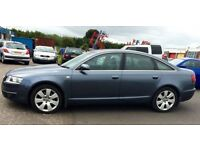 2005 AUDI A6 3.0 TDI QUATTRO - THIS CAR HAS EVERY EXTRA, SAT NAV, ELEC BLINDS, LEATHER, BOSE SOUND