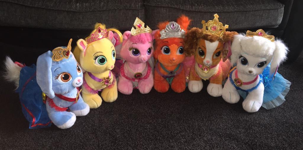 Build a bear Disney palace pets