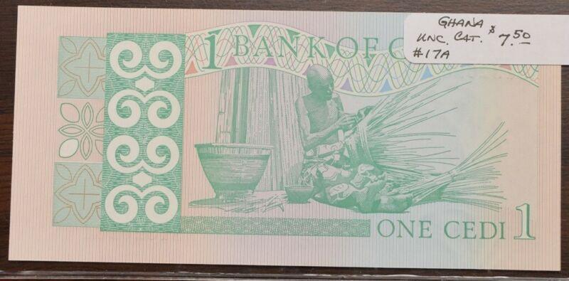 Ghana $1 One Credi - UNC - CAT $7.50