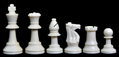 Uscf Sales Analysis Plastic Chess Set   Pieces Only   2 5  King