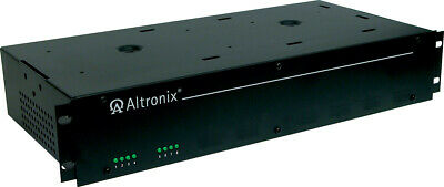 Altronix R615dc8ul 8 Output Rack Mount Cctv Power Supply-used