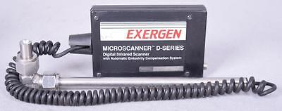 Exergen Microscanner D-series Digital Infrared Scanner D1601 Rs