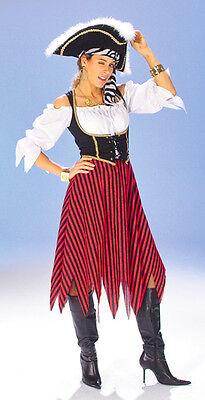 Freibeuterin Gr. 36 - 46 Piratin Kostüm Pirat Frauenkostüm Karneval Fasching