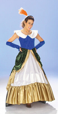 Gräfin Barock Kostüm Rokoko Langes Damen Kleid Theater Fasching Gr. S M - Rokoko Kleid Kostüm