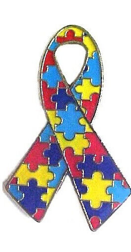 AUTISM AWARENESS LAPEL PINS Gifts Puzzle Pieces Ribbons Prizes ASD Zipper  Pull