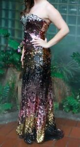 Sequin Prom Dress by Mori Lee - Colours Change!