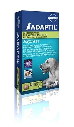 ADAPTIL Express Tabletten 40 Stück zur Beruhigung/Anti-Stress, Beruhigungsmittel
