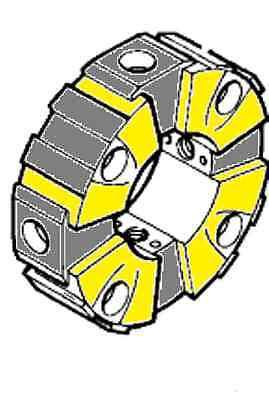 Hitachi Excavator Hydraulic Pump Coupling. Ex200-5 Ex200lc-5
