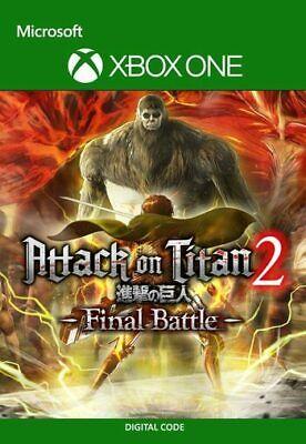 Attack on Titan 2: Final Battle (Xbox One, X|S) - Digital code...