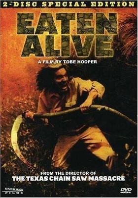 EATEN ALIVE Tobe Hooper*Robert Englund Horror 2 Disc Special Edition R1 DVD *NEW