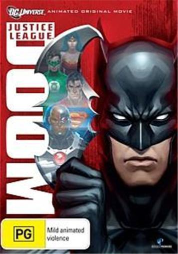 Justice League: DOOM : NEW DVD