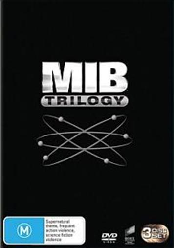 Men In Black MIB I+II+III TRILOGY 1 2 3 : NEW DVD