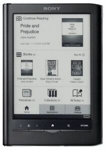 Sony eReader with case