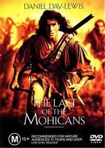 LAST of The MOHICANS = NEW R4 DVD = Daniel Day-Lewis