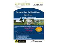 European Tour Turkish Airlines Golf Open Experience