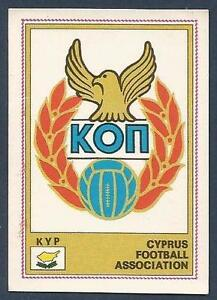 PANINI-EURO-77-168-CYPRUS-TEAM-BADGE