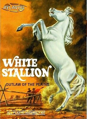 Atlantis Models 2001 White Stallion In Box