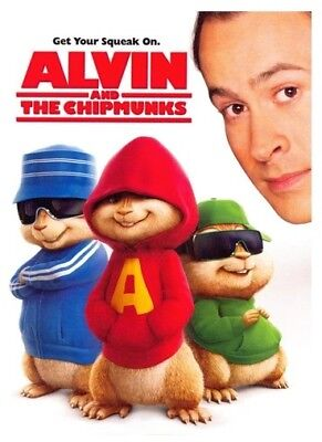 Alvin and the Chipmunks (DVD, 2008,)