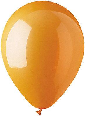 Orange Latex Balloons (12 - 96 pc 12