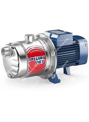 Electric Pump Pedrollo Plurijet 4/80X HP 0,80 Multistage Self Priming 130L/M